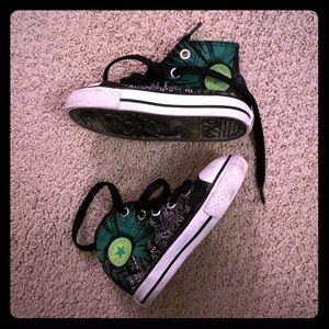 Green Lantern High Top Chuck Taylor's toddler 6